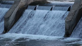 Artificial Waterfall stock video footage