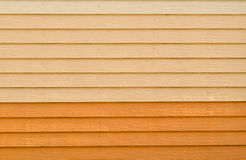 Artificial wood wall background Royalty Free Stock Image