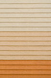 Artificial wood wall background Stock Photography