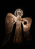 Artificial xmas angel Royalty Free Stock Photos