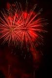 Artificiales de los fuegos artificiales-Fuegos Imagen de archivo libre de regalías