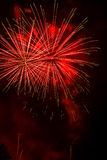 Artificiales dos fogos-de-artifício-Fuegos Imagem de Stock Royalty Free