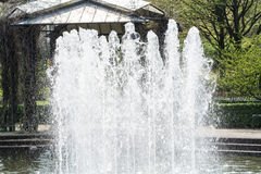 Artificially designed waterfall, fountain Royalty Free Stock Photography