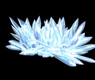 Artificially simulated crystals Stock Photos