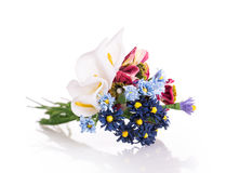 Artificials flowers Stock Images