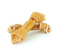 Artificiel un os pour un crabot avec des vitamines Photographie stock