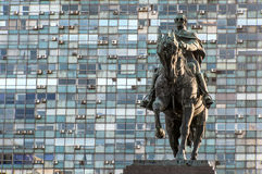 Artigas,蒙得维的亚将军雕象  库存图片