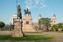 Artigas monument Royaltyfria Foton