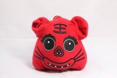Artigianato del cinese tradizionale della tigre del panno Immagini Stock