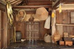 Artigianato di bambù tradizionale Fotografia Stock Libera da Diritti