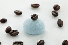 Artigianato e caffè della caramella gommosa e molle Fotografie Stock