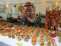 Artigianato sul festival della cipolla a Weimar Immagini Stock