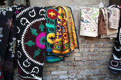 Artigianato in Uzbekistan immagini stock