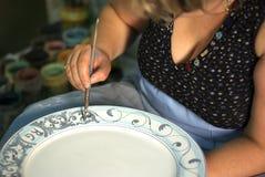 Artigiano della ceramica Fotografia Stock