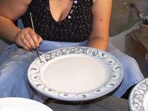 Artigiano della ceramica Fotografia Stock Libera da Diritti