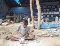 Artigiano indiano Fotografia Stock