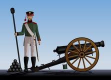 Artiglieria royalty illustrazione gratis