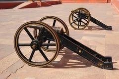 Artiglieria antica al palazzo della città, Jaipur, India Fotografie Stock