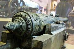 Artiglieria della Tailandia nel passato (cultura della Tailandia) fotografie stock libere da diritti