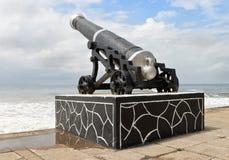 Artiglieria di Colombo sulla spiaggia Fotografia Stock Libera da Diritti