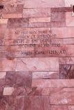 Artigo do texto de Magna Carta foto de stock royalty free