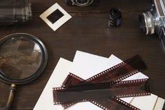 Artigos da fotografia do vintage imagem de stock royalty free
