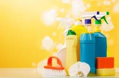 Artigos da limpeza Imagens de Stock