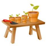 Artigos de jardinagem Foto de Stock Royalty Free