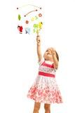 Artigos de madeira do carrossel da captura da criança Imagens de Stock Royalty Free