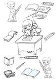 Artigos de papelaria Ilustração Royalty Free