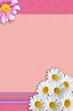 Artigos de papelaria da flor imagem de stock royalty free