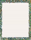 Artigos de papelaria de néon II ilustração royalty free