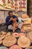 Artigos de tecelagem do artesanato do artista Imagem de Stock