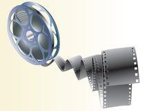 Artigos do filme ilustração do vetor
