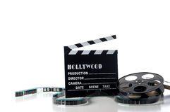 Artigos do filme de Hollywood Foto de Stock Royalty Free