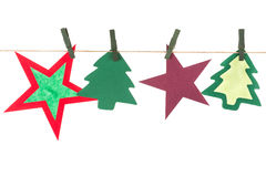 Artigos do Natal Imagem de Stock Royalty Free