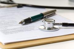Artigos médicos imagens de stock