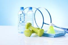 Artigos para a atividade física saudável fotos de stock