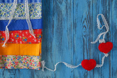 Artigos para costurar ou DIY Imagens de Stock