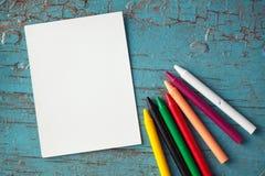 Artigos para a faculdade criadora das crianças Foto de Stock