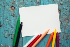 Artigos para a faculdade criadora das crianças Fotografia de Stock Royalty Free