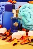Artigos para a higiene pessoal Fotografia de Stock Royalty Free