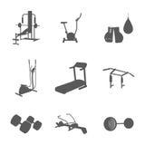 Artigos para o gym Fotos de Stock Royalty Free