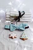 Artigos pequenos do Natal Foto de Stock
