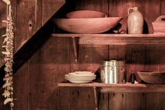 Artigos rurais da cozinha Foto de Stock