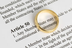 Artikel 50 Arkivfoto