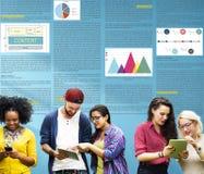 Artikel-Geschäfts-Informations-Visions-Konzept stockfotos