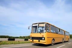 artikulerad buss Royaltyfri Bild