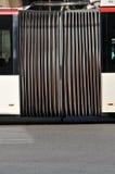 artikulerad bussanslutning Arkivbild