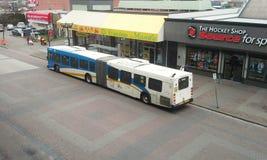 Artikulerad transportbuss Royaltyfria Bilder